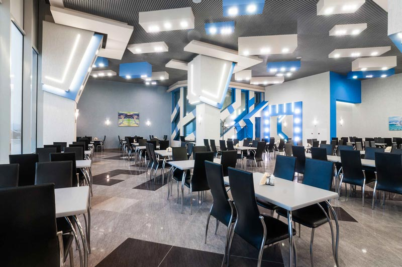 Кафе Ламантин в ДЦ Аэроплаза. Банкетный зал. Домашняя кухня. Санкт-Петребург.