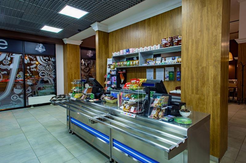 Кафе Ламантин в БЦ Бенуа. Выбор блюд. Домашняя кухня. Санкт-Петербург.