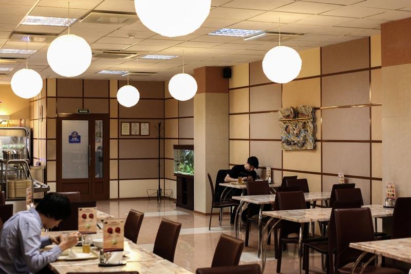 Кафе Ламантин в БЦ Истен. Выбор блюд. Домашняя кухня. Санкт-Петербург.